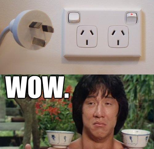 Prises de courant avec interrupteur ecolo pratique ingénieux quoi ! (electric outlet in new zealand)