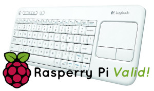 Logitech K400 : le Clavier sans-fil parfait pour votre Raspberry Pi (XBMC, OpenElec) souvent en promo !