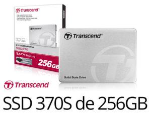 Bon Plan : SSD370 et 370S Transcend 256Go MLC à partir de 69€90