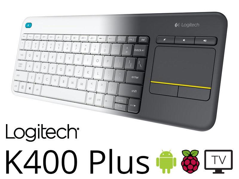 Logitech K400 Plus : la nouvelle version du clavier absolu pour