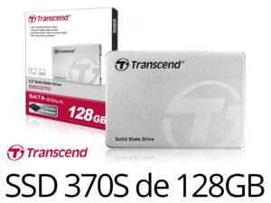 Bon Plan : SSD370S Transcend 128Go MLC à partir de 41€99