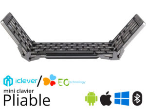 Mini Clavier pliable iClever ou EC Technology dès 23€99
