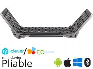 Mini Clavier pliable iClever ou EC Technology dès 23€99
