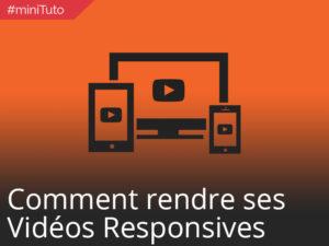 #miniTuto Comment rendre ses vidéos responsive #8