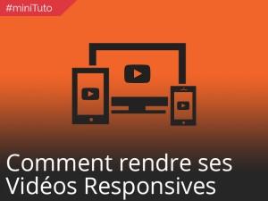 #miniTuto afficher vos vidéos de manière responsive #8