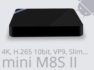 Mini M8S II – Test vidéo de la BOX TV 4K qui décode la H.265 10bit à petit prix !