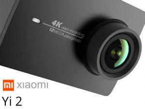 Xiaomi Yi 2 – l'action caméra 4K 12Mpix avec un écran LCD 2.19″ à 190€ !