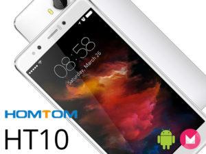 HOMTOM HT10 – Un smartphone en titane sous Helio X20 avec un scanneur d'Iris ! (pour moins de 190€)