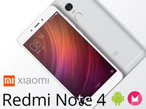 Xiaomi Redmi Note 4 – un smartphones 5.5″ de 16/64GB sous Helio X20 + 4100mAh de batterie