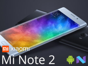 Xiaomi Mi Note 2 : un flagship OLED incurvé sous Snapdragon 821 [+vidéo]