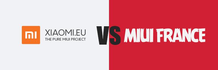 Xiaomi.eu versus MIUI-France.org