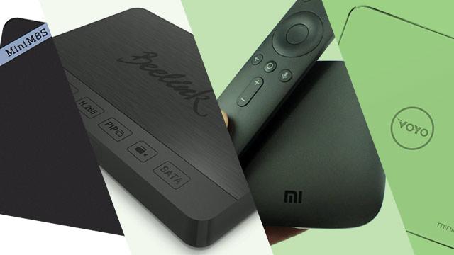 Quel est la meilleure box TV Android (pour soi) ?