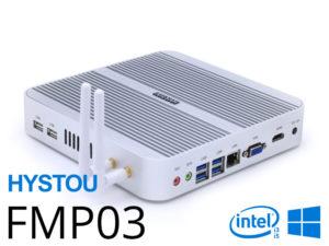 Hystou FMP03 – Un Barebone mini PC Intel Core i3/i5 4K UHD à partir de 200€
