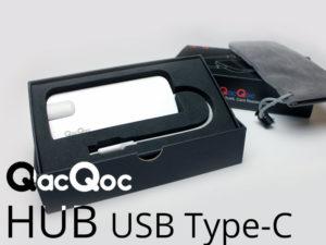 QacQoc GN30H – Un HUB USB type-C qui.. marche tout simplement [+ vidéo]