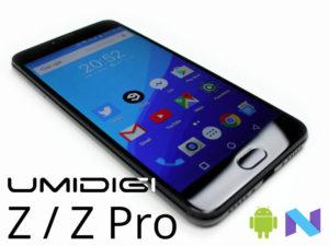 UMIDIGI Z et Z Pro – Des smartphones pensés pour la photo avec un Helio X27 de 2.6Ghz