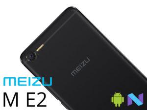 Meizu M E2 – Helio P20 FULL 4G aussi réduit en prix qu'en épaisseur !