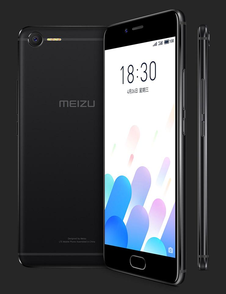 MEIZU M E2 Black back front