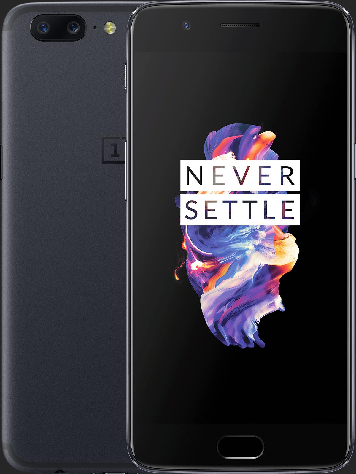 OnePlus 5 HD avant arrière