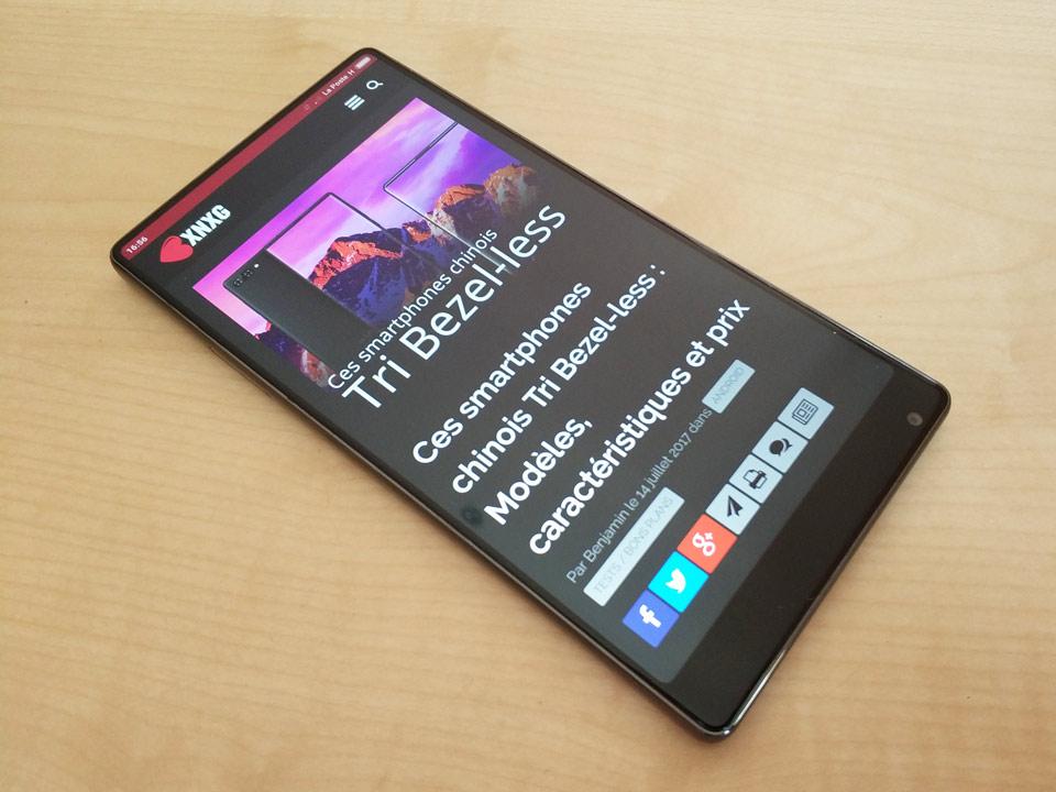 Xiaomi Mi MIX bezel less