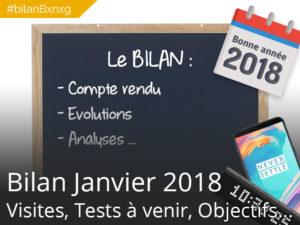 #bilanBxnxg C'est l'heure du bilan – Janvier 2018