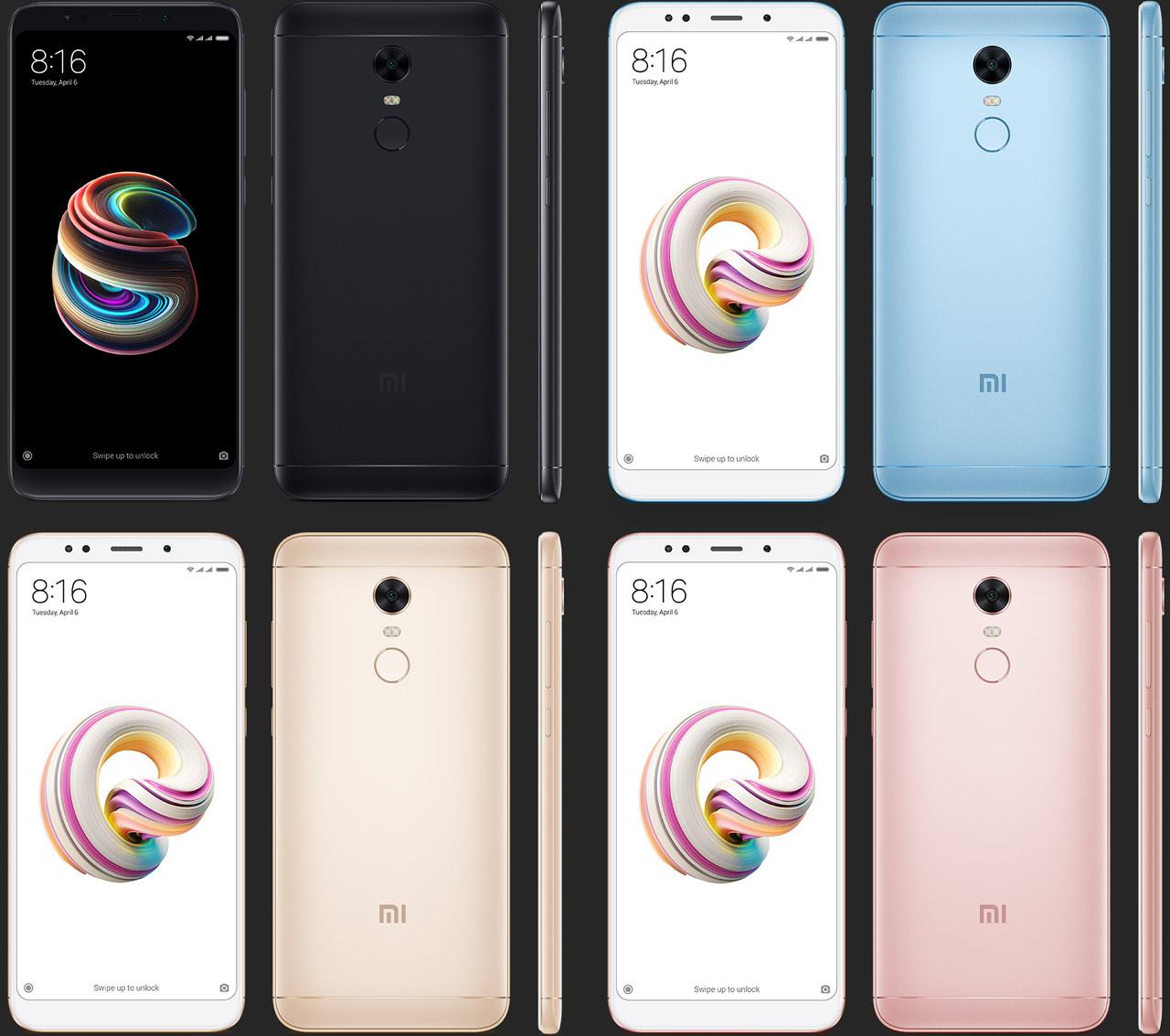 Xiaomi Redmi Note 5 - Snapdragon 636, Double capteur et 4G